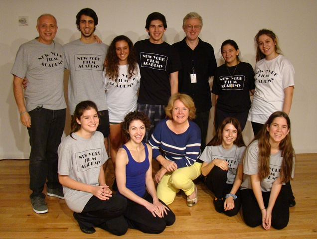 webPastudio Usa Tour 2013 NYFA group final
